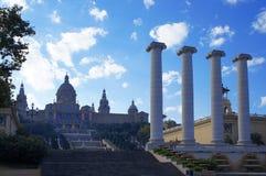 Museu Nacional Art de Catalunya Foto de Stock