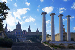 Museu Nacional Art de Catalunya Stock Photo