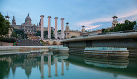 Museu Nacional d'Art de Catalunya Royalty Free Stock Images