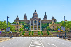 Museu Nacional d'Art de Catalunya. Royalty Free Stock Photos