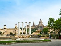 Museu Nacional d'Art de Catalunya. The Museu Nacional d'Art de Catalunya (English: National Art Museum of Catalonia), abbreviated as MNAC, is the national museum Royalty Free Stock Photo