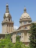 Museu Nacional d'Art DE Catalunya Stock Afbeelding