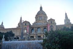 Museu Nacional D ` Art de Catalunya Arkivfoton