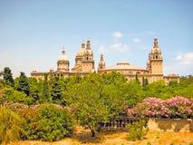 Museu Nacional d'Art de Catalunya, Barcelona Royalty Free Stock Image