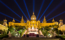 Museu Nacional d'Art de Catalunya - Barcelona, Spain.  royalty free stock photos