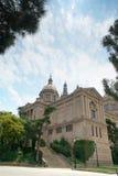 Museu Nacional d'Art de Catalunya Barcelona Spanien Lizenzfreie Stockbilder
