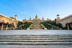 Museu Nacional d'Art de catalunya, Barcelone. Photographie stock libre de droits