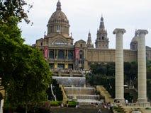 Museu Nacional D'Art De Catalunya. Catalonian Art Museum in Barcelona, Spain Royalty Free Stock Photography