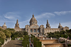 Museu Nacional d`Art de Catalunya - museum is a must-see for art Royalty Free Stock Photo