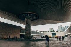 Museu Nacional da antropologia Cidade do México Foto de Stock Royalty Free