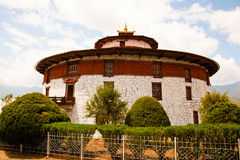 Museu Nacional de Bhutan Fotografia de Stock Royalty Free