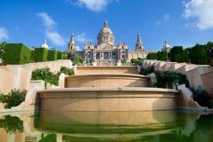Museu Nacional de Catalunya da arte Fotografia de Stock Royalty Free