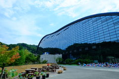 Museu Nacional de Kyushu em Dazaifu imagem de stock royalty free