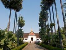 Museu Nacional de Luang Prabang Imagem de Stock