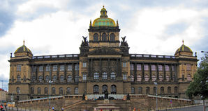 Museu Nacional de Praga, República Checa Fotografia de Stock Royalty Free