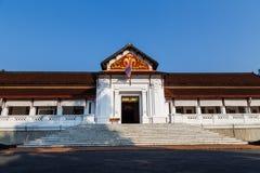 Museu Nacional do golpe de Luang Pra Imagem de Stock