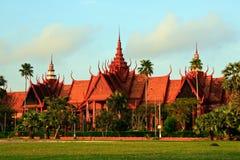 Museu Nacional em Phnom Penh Foto de Stock Royalty Free