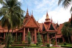 Museu Nacional em Phnom Penh Imagens de Stock Royalty Free