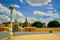 Museu Nacional em Phnom Penh - Camboja Imagem de Stock Royalty Free