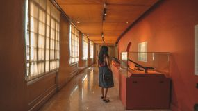 Museu Nacional filipino foto de stock royalty free