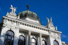 Museu Nacional Silesian do muzeum do zemske de Slezske, Opava, República Checa/Czechia imagem de stock royalty free