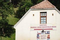 Museu no farelo, Romênia fotos de stock