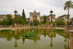 Museu no parque de Maria Luisa Imagens de Stock