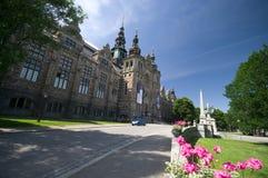 Museu nórdico em Éstocolmo Fotografia de Stock Royalty Free