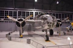 Museu Ohskosh Wisconsin do bombardeiro CEA de B-25 Mitchell Foto de Stock Royalty Free