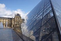 Museu Paris da grelha foto de stock royalty free