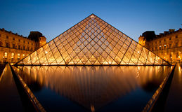 Museu Paris da grelha Imagem de Stock Royalty Free
