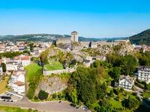 Museu pirenaico do forte em Lourdes imagens de stock royalty free