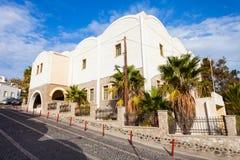 Museu pré-histórico de Thera, Santorini imagens de stock