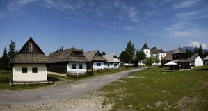 Museu Pribylina Foto de Stock Royalty Free