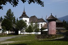 Museu Pribylina Fotografia de Stock Royalty Free