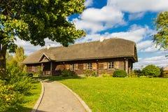 Museu-propriedade de Adam Mickiewicz na localidade de Zawosse imagem de stock