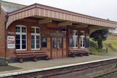 Museu Railway da âncora azul Imagem de Stock Royalty Free