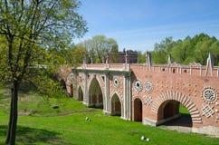 A Museu-reserva Tsaritsino, Moscou, Rússia Imagem de Stock