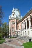 Museu-reserva Tsaritsyno, Moscou, Rússia imagens de stock