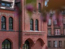 Museu Silesian das insurreições, Swietochlowice fotografia de stock royalty free