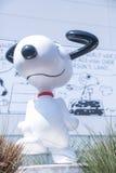 Museu Snoopy no Tóquio Japão o 30 de março de 2017 | Cão feliz do modelo bonito dos desenhos animados Foto de Stock