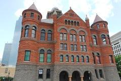 Museu vermelho velho - Dallas, Texas fotos de stock