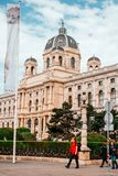 Museu Viena da História natural fotos de stock royalty free