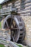 Museu vivo da História da angra do banco de areia do moinho de água imagens de stock