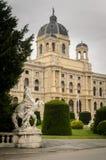 Museu Wien de Naturhistorisches Fotografia de Stock
