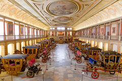 Museudos Coches Lissabon Stock Afbeelding