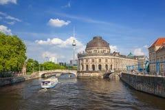 Museumö, Berlin Germany Royaltyfria Bilder