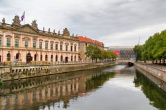 Museumö i Berlin Arkivfoto