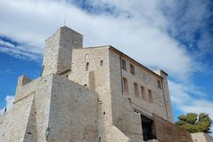 Museum. Picasso Museum in Antibes on the French Riviera, France Stock Photos