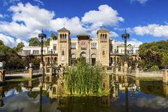 Museum. Of Arts and Traditions of Sevilla, Spain Royalty Free Stock Images